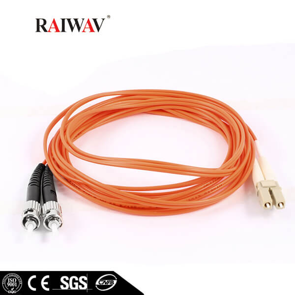 High Return Loss Simplex Duplex LC-ST Fiber Optic Patch Cord