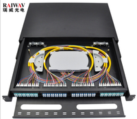 FTTH 12 24 Core LC SC Optic Fiber Terminal Box