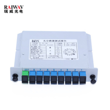 1X8 Cassette Type Fiber Optical Splitter