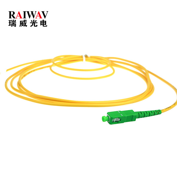 Fiber Optic Single Mode SC APC Pigtail