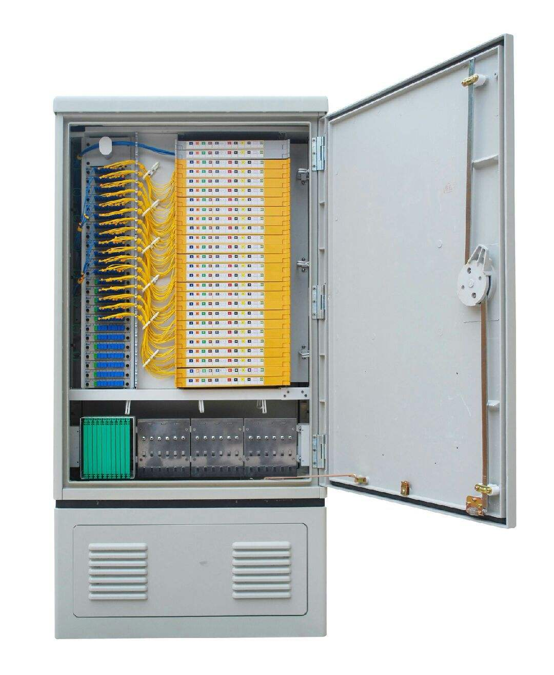FTTH Fiber Cross SMC 96 core 144 core 288 core 576 core Connect Cabinet