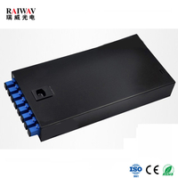 8 Port Metal Optic Fiber Terminal Box